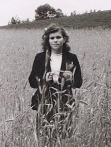 Hania in Wheat Field